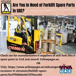 Are You in Need of Forklift Spare Parts in UAE?