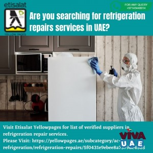 Are you searching for refrigeration repairs services in UAE?