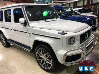 2021 Mercedes G63 / Full Option / GCC Spec / With Warranty