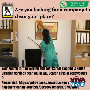 Are you looking for a company to clean your place?