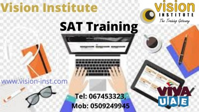 SAT Training at vision institute in ajman call 0509249945