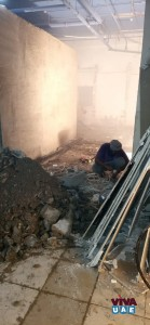 Demolition of walls,tiles Removal of Debris 0566514337 low priced general maintenance , screeding