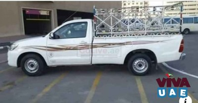 Pickup truck for rent in oud metha 0567172175