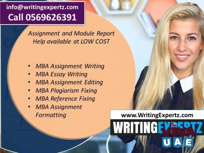 Visit writingexpertz.com or Call 0569626391 for MBA assignment writing help in UAE.