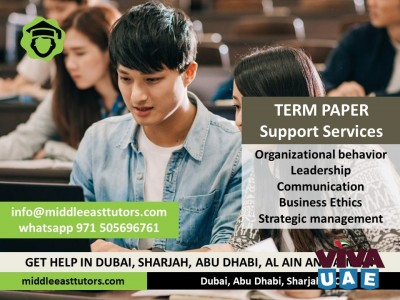 Call +971505696761 Visit middleeasttutors.com or for term paper writing services in Dubai
