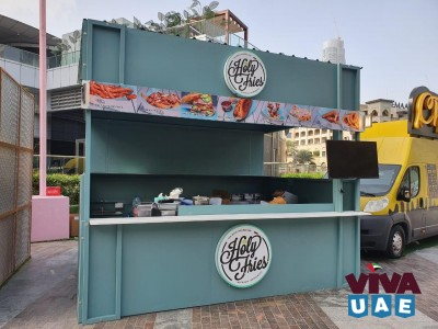 Food booth and kitchen utensils for sale