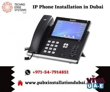 Quality IP Phone Installation Providers in Dubai