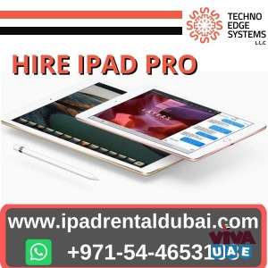 Exclusively Ipads Rental for Events in Dubai