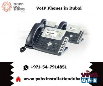 Get Advanced VoIP Phones in Dubai