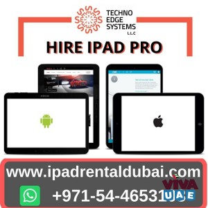 Advantages Of IPad Hire Dubai For All types of Businesses