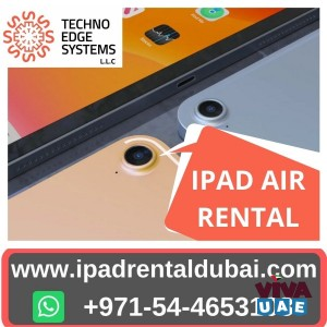 Benefits of iPad Air Rental Services Dubai