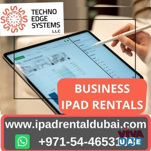 How Ipad Rentals In Dubai Has Spearheaded The Consumer Market