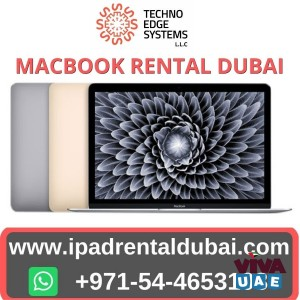 How Can MacBook Rentals Positively Affect Business Events in Dubai