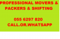 PROFESSIONAL MOVERS AND PACKERS[055 6297820].MR.ALI