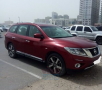 Nissan Pathfinder 3.5 L ,SV 2015 4 wd December model 52000km for sale