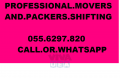 PROFESSIONAL MOVERS & PACKERS[055 6297820].MR.ALI